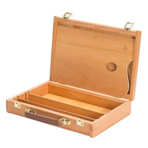 CAPPELLETTO SKETCH BOX WITH MOVEABLE DIVIDERS & PALETTE