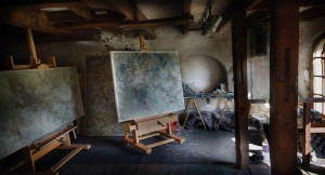 STUDIO EASEL CAPPELLETTO