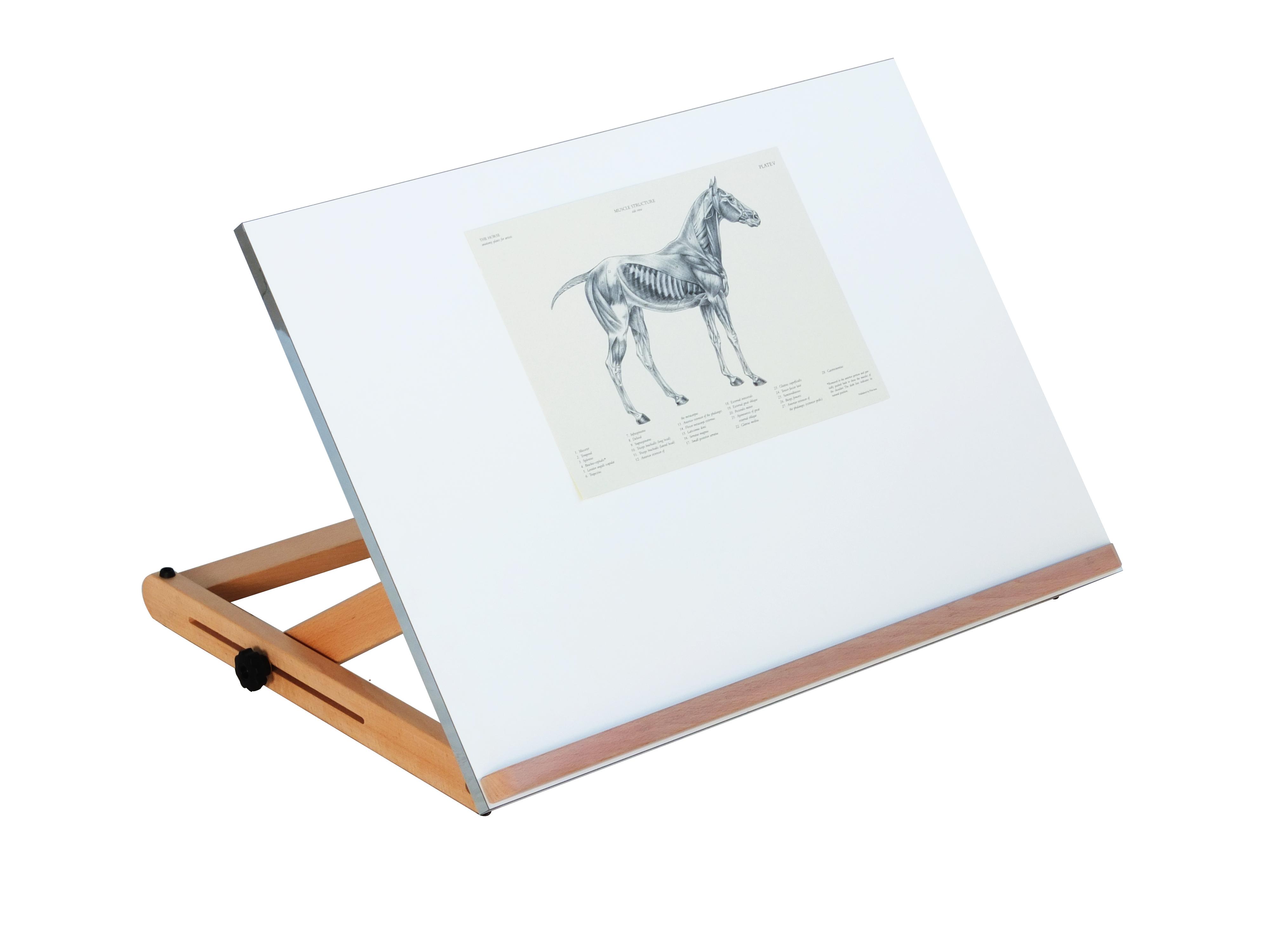 Tavolo Da Disegno Artistico : Td 10 ◦ tavola da disegno regolabile cappelletto articoli e
