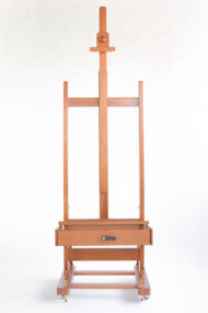 CS-300V-Studio-easel-with-crank-walnut-lacquered-Cappelletto-04