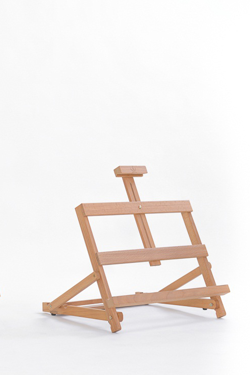 Ct 18 cavalletto da tavolo leggio cappelletto articoli e lavorazioni in legno - Cavalletto da pittore da tavolo ...