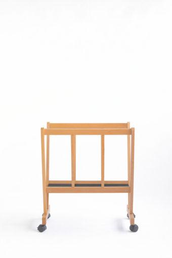 PC-70-Porta-poster in legno di faggio con ruote e base antiscivolo-Cappelletto-particolare1001.jpg