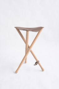 SG-9-Artist-folding-stool-brown-leather-seat-Cappelletto-04